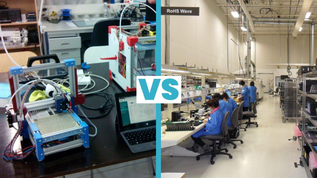 Makers VS industrialisation, quelles différences ?