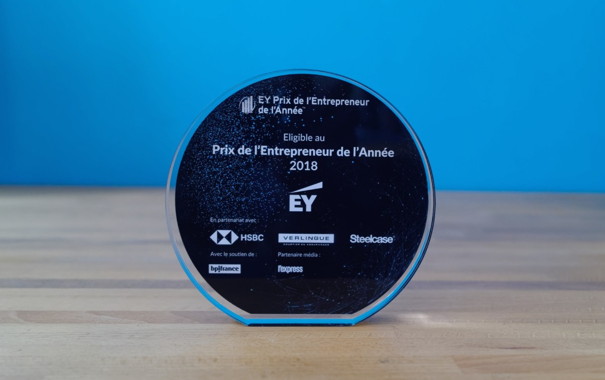 prix EY entrepreneur de l'année - kickmaker