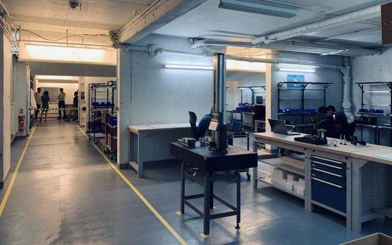 Kickmaker assembly line industrialization preserie