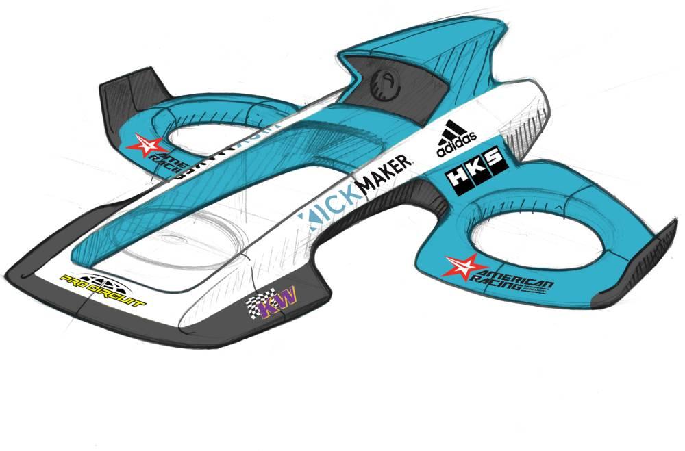 le design chez Kickmaker